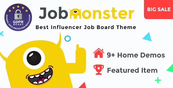 Jobmonster WordPress Theme free download