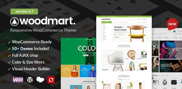 WoodMart WordPress Theme free download